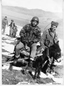 С неба – на землю. Борттехнику вертолета Анатолию Лебедю приходилось в Афганистане передвигаться и на ослике.