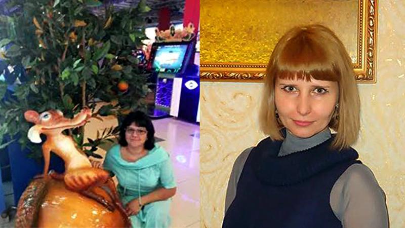На фото: Слева - Галина Михайлова, справа – Надежда Дураченко (Мошкина)