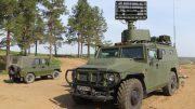 Новые машины противовоздушной обороны «Гибка-С»