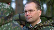 Министр обороны Финляндии Юсси Ниинистё