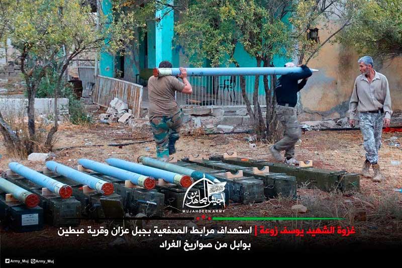 Болгарские боеприпасы боевиков в Алеппо